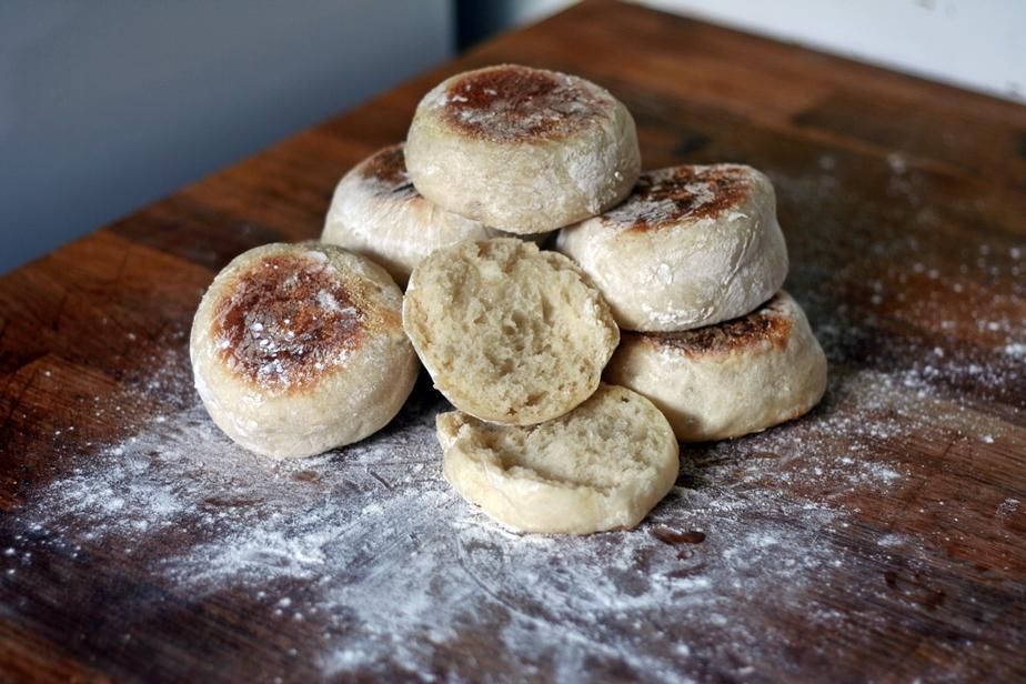 Fresh Yeast Muffins
