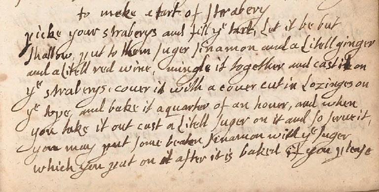 Jane Parker's Recipe
