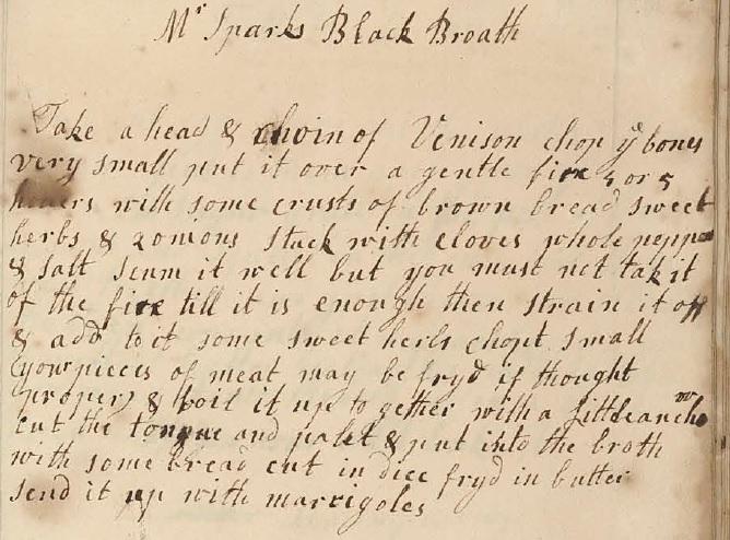 Original Black Broth recipe