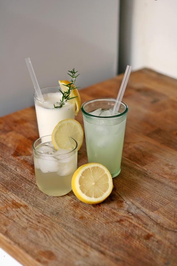 Three lemonades