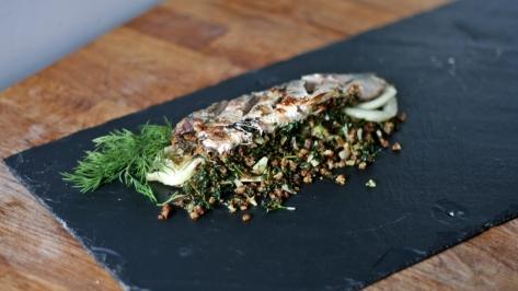Broiled Mackerel