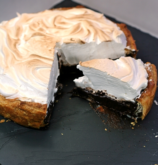 Chocolate Meringue Pie, 1777