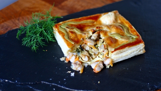 Cockle and Mussel Pie
