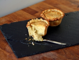 Gooseberry Pudding Pies