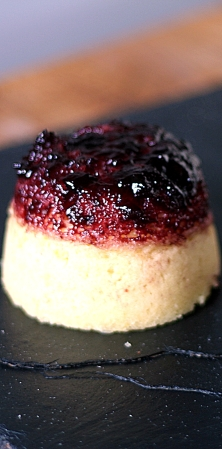 Steamed Sponge with Jam