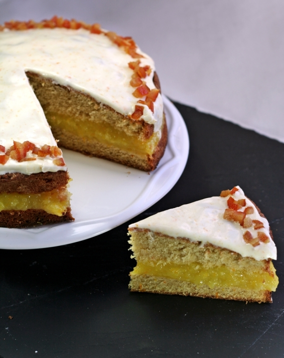 Orange Cake, 19th Century