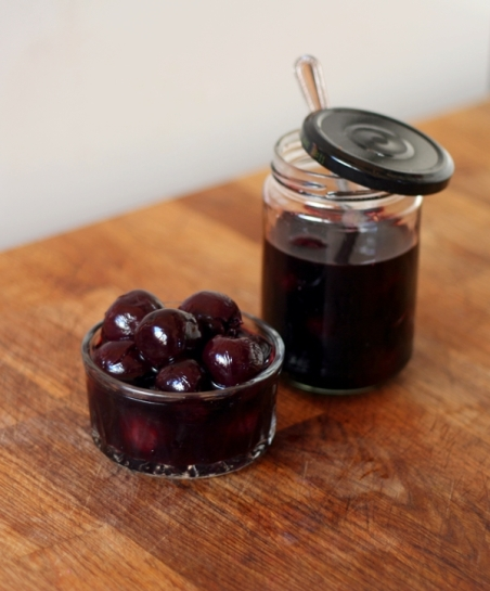 Pickled Cherries