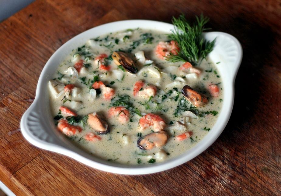 Seafood Pottage