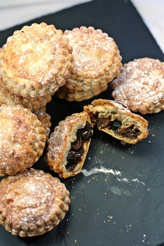 Puff Pastry Mince Pies, 1900