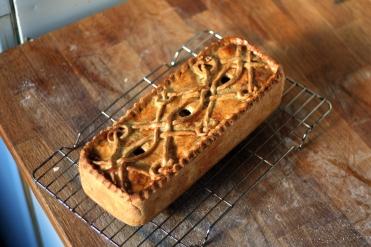 Venison and Potato Pie decoration