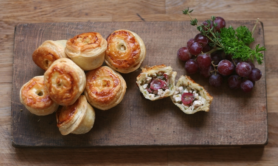 Mini Chicken and Bacon Pies